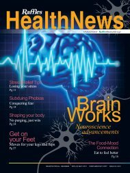 Brain Works - Neuroscience Advancements - Raffles Medical Group