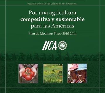 Plan de Mediano Plazo 2010 - 2014 - Instituto Interamericano de ...