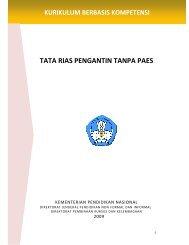 Kurikulum Berbasis Kompetensi Tata Rias Pengantin Tanpa Paes ...