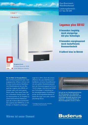 Logamax plus GB162