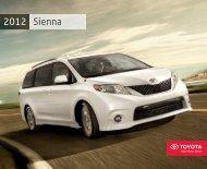 2012 Sienna Brochure - Toyota Canada