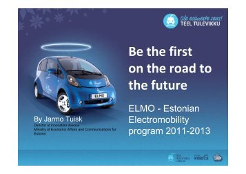 Republic of Estonia - CHAdeMO
