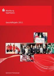 Geschäftsjahr 2011 - Wartburg-Sparkasse
