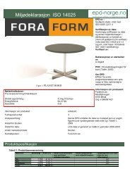 Fora Form Planet bord - Lindbak