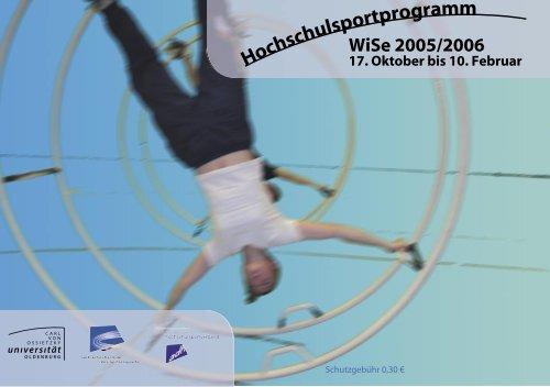 Angebote nur für Frauen - Hochschulsport - Universität Oldenburg