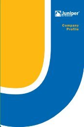 Juniper Networks Corporate Brochure