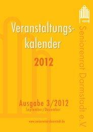 2012 - Seniorenrat Darmstadt eV