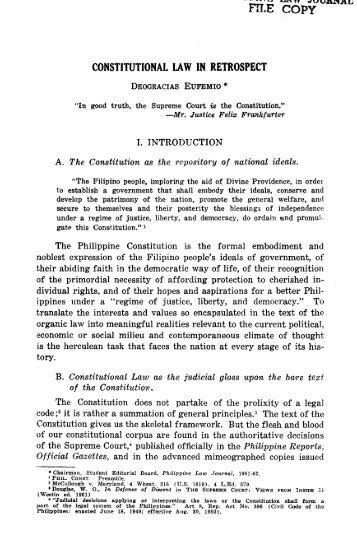 PLJ volume 37 number 1 -01- Deogracias Eufemio