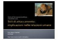 l'attaccamento - Marco Vicentini