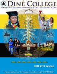 Diné College Course Catalog 2010-2011 (pdf)