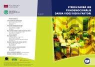 Psihoemocionalie riski - Eiropas darba drošības un veselības ...