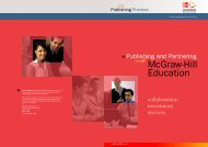 Publishing and Partnering with McGraw-Hill Education