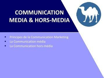 Communication Média et Hors Média - PDF - Bienvenue sur le site d ...