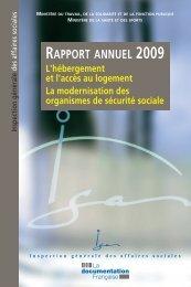 son rapport annuel - La Documentation française