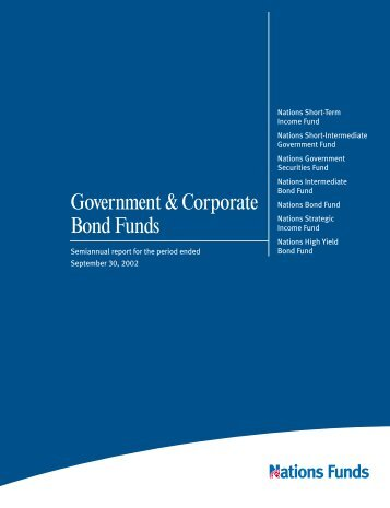 Government & Corporate Bond Funds