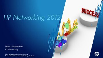 HP Networking 2012