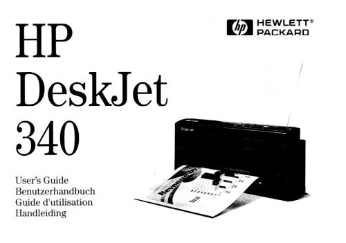 Der HP DeskJet 340 Drucker - produktinfo.conrad.com