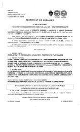 CERTIFICAT DE URBANISM - Primaria Municipiului Hunedoara