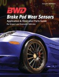 Brake Pad Wear Sensors - BLUESTREAK