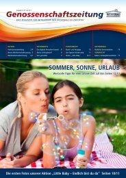 Genossenschaftszeitung Nr. 40 - Juli 2011 - Wewobau