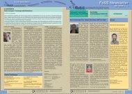 FoSS-Newsletter Juli 2009 - Institut für Sport und Sportwissenschaft