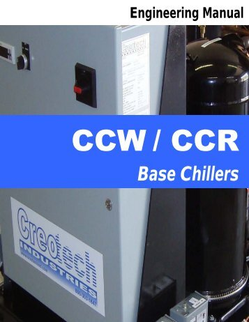 CHILLER CZ and CT Engineering Manual