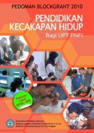 Pedoman Blockgrant PKH Khusus UPT PNFI Tahun 2010