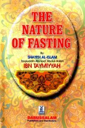 The Nature of Fasting - Enjoy Islam