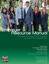 Employer Resource Manual - Student Affairs - University of Miami
