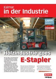 in der Industrie - Cargotec