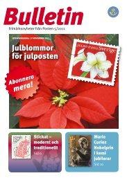 Bulletin 5 2011 - Posten