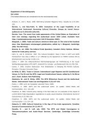 Supplement of the Bibliography - Cupore