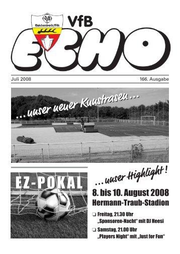 VfB EZ-POKAL - VfB Reichenbach/Fils