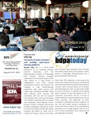 ICT INDUSTRY NEWS December 2012 - bdpatoday