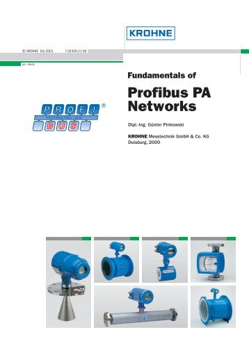 Fundamentals of profibus pa networks - Krohne