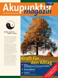 Akupunktur Magazin Oktober 2011