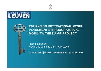 Presentation - EU-VIP