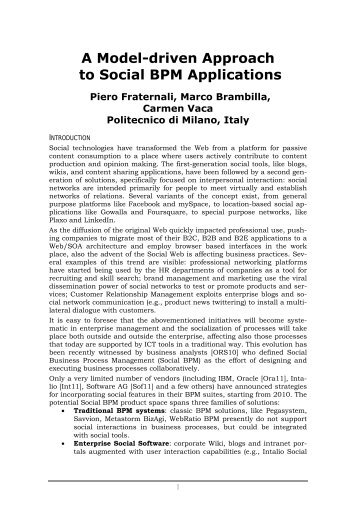 Full text preview of the chapter [PDF] - Politecnico di Milano