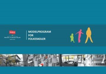 MODELPROGRAM FOR FOLKESKOLER