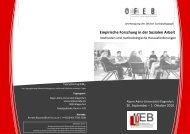 Tagungsprogramm - ifeb - Universität Klagenfurt