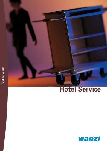 Sie w ollen sofortbestellen? - in der Welt von Wanzl Hotel Service!