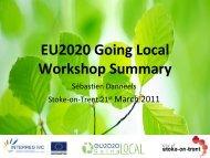 Summary, Sébastien Danneels - EU2020 Going Local