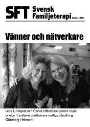 SFT – Svensk Familjeterapi nr 1 2010 - Svenska föreningen för ...