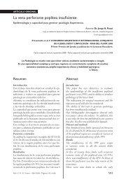 La vena perforante poplítea insuficiente - Sociedad de Flebología y ...