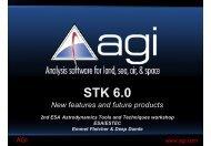 STK Astrodynamics Tools and Techniques - ESA