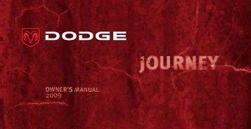 2009 Dodge Journey Owner Guide