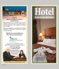 Hotel Accommodations - Mercy Medical Center-North Iowa