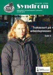 Syndrom nr. 4-2009 - Arbeidsmiljøskaddes landsforening