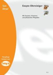 Enzym-Ohrreiniger - Veyx-Pharma GmbH