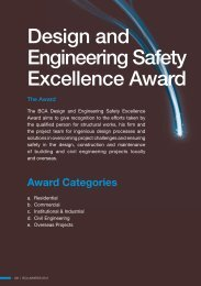 Design and Engineering Safety Excellence Award - Building ...